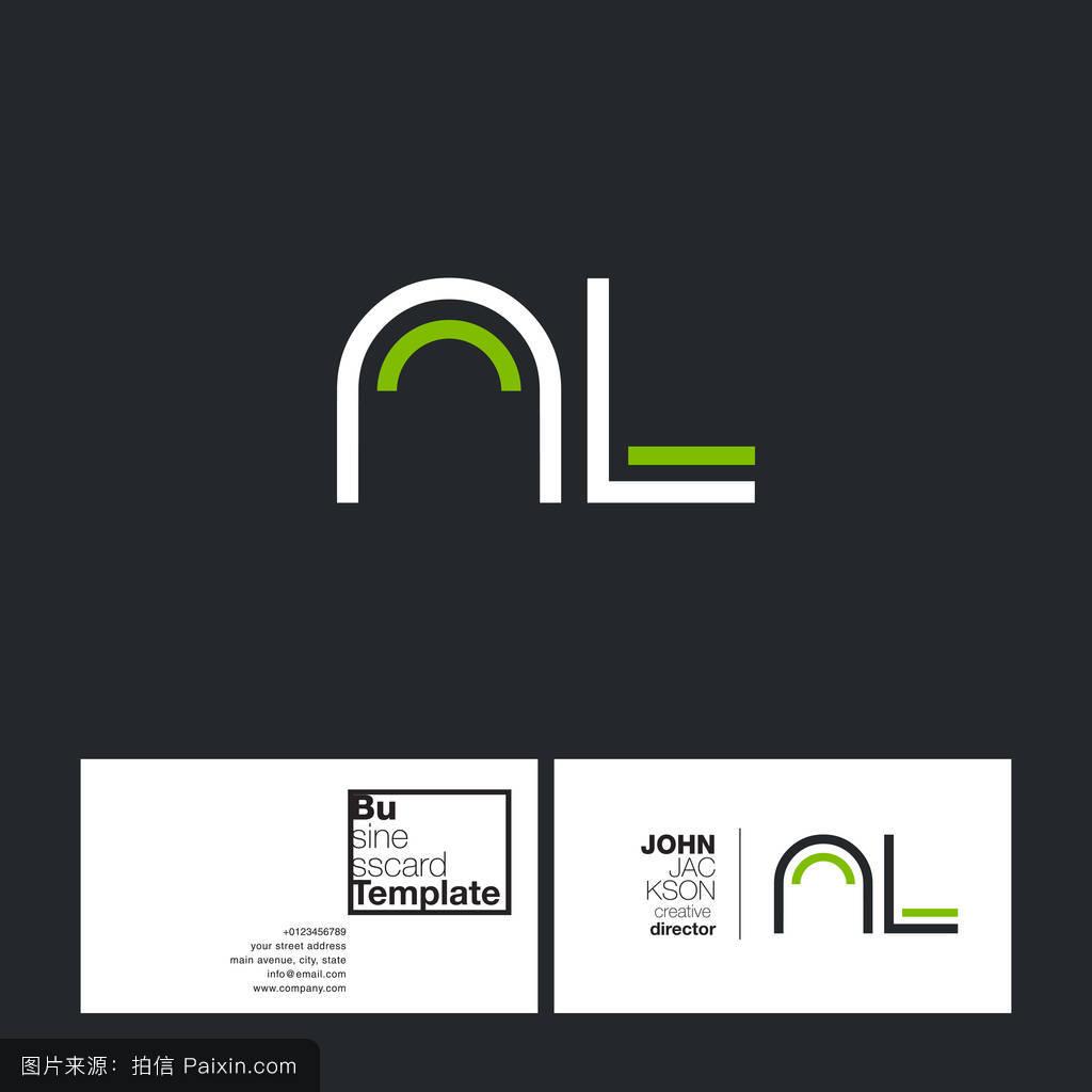 季�9nl_圆形字母标志nl