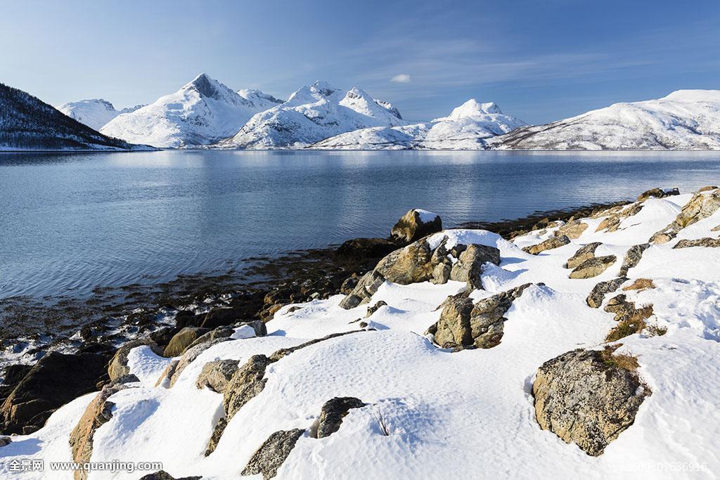 图像,自然风光,斯堪的纳维亚,峡湾,北欧地区,特罗姆斯,沿岸,挪威北部图片
