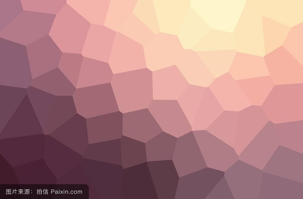 几何图案墙.复古紫马赛克.图片