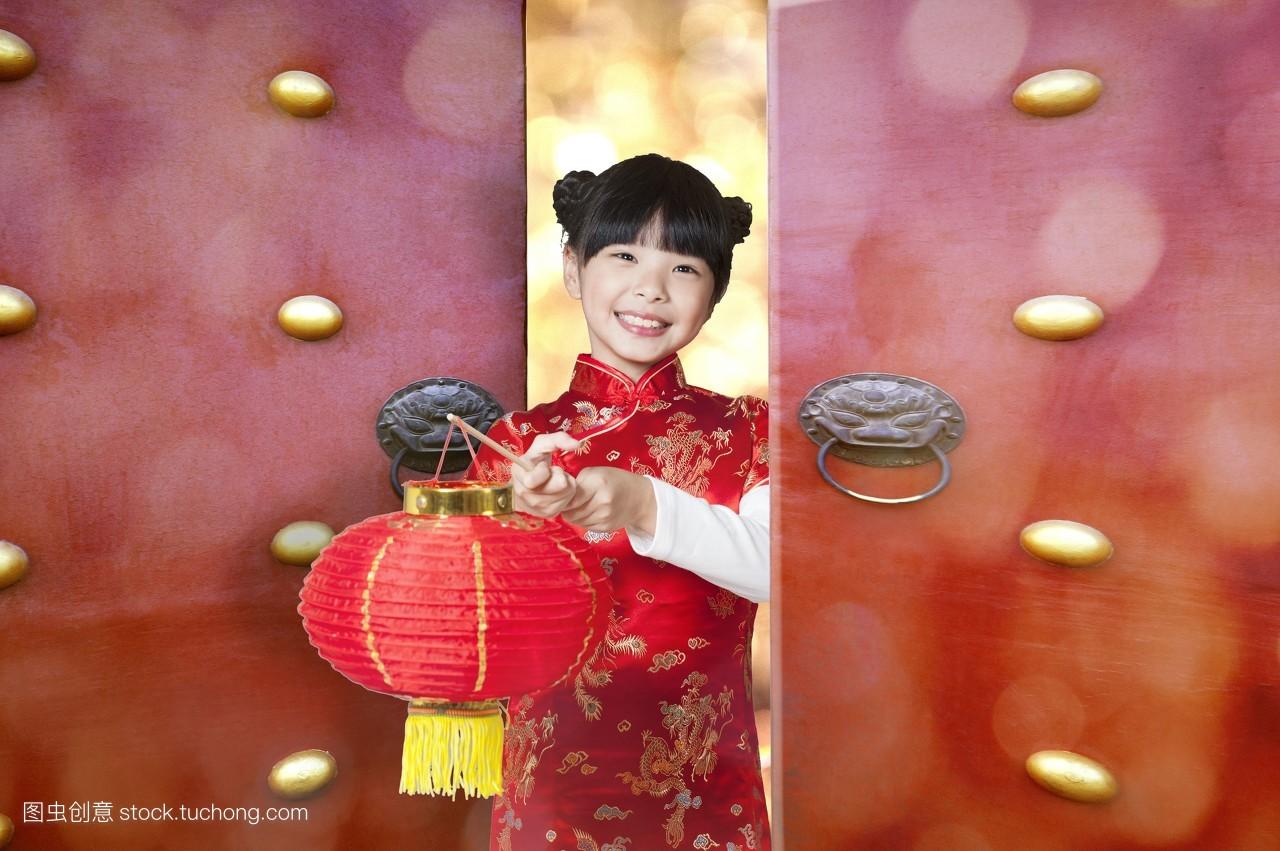 童年,中国人,只有女孩,亚洲人,可爱,学生,中低年级小学生,顽皮,乐观图片