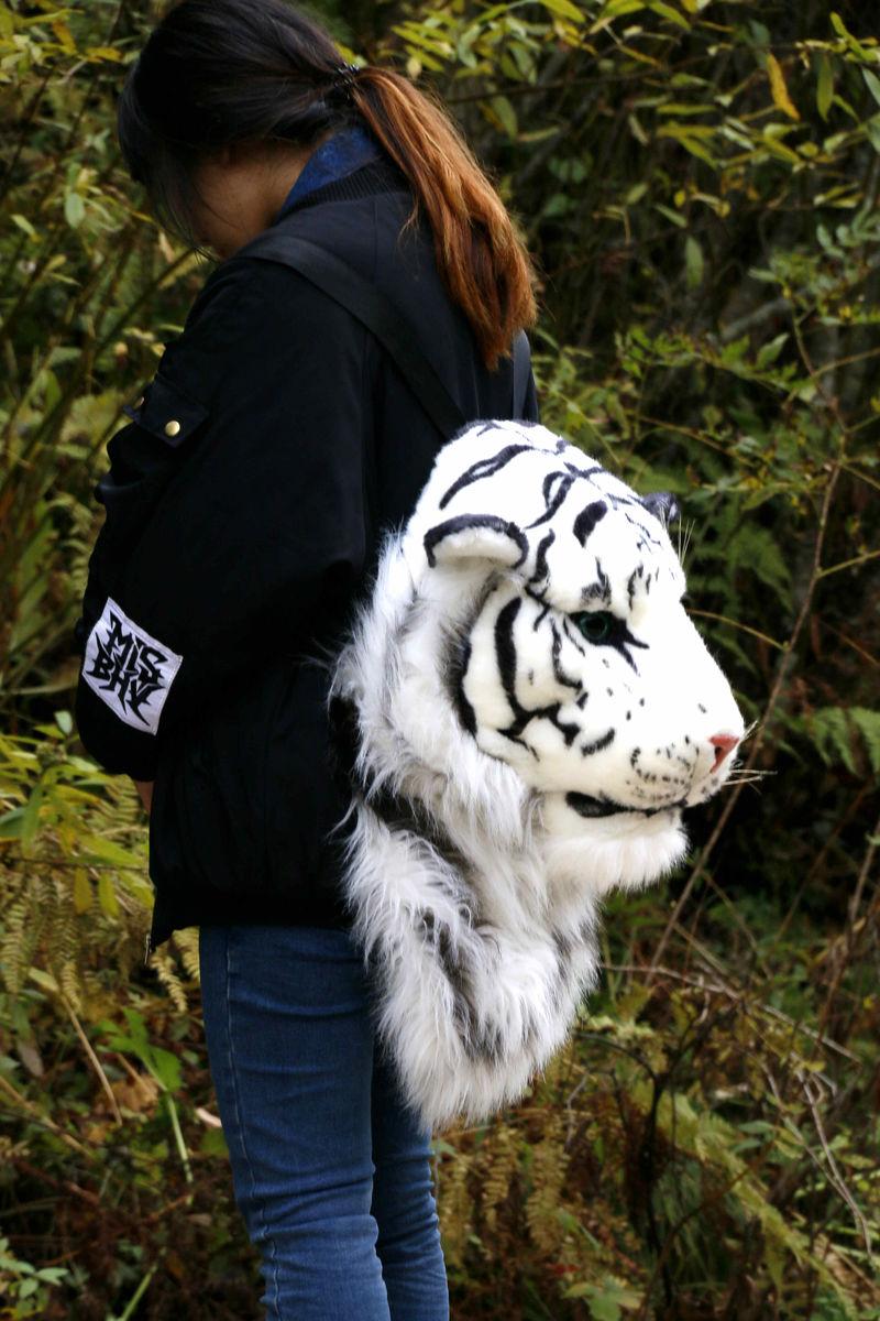 虎头背包图片