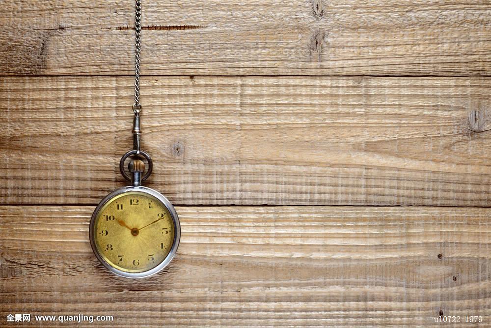 钟表,特写,钟点,金属,分钟,时间,手表,老式,老,复古,旧式,无人,木板图片