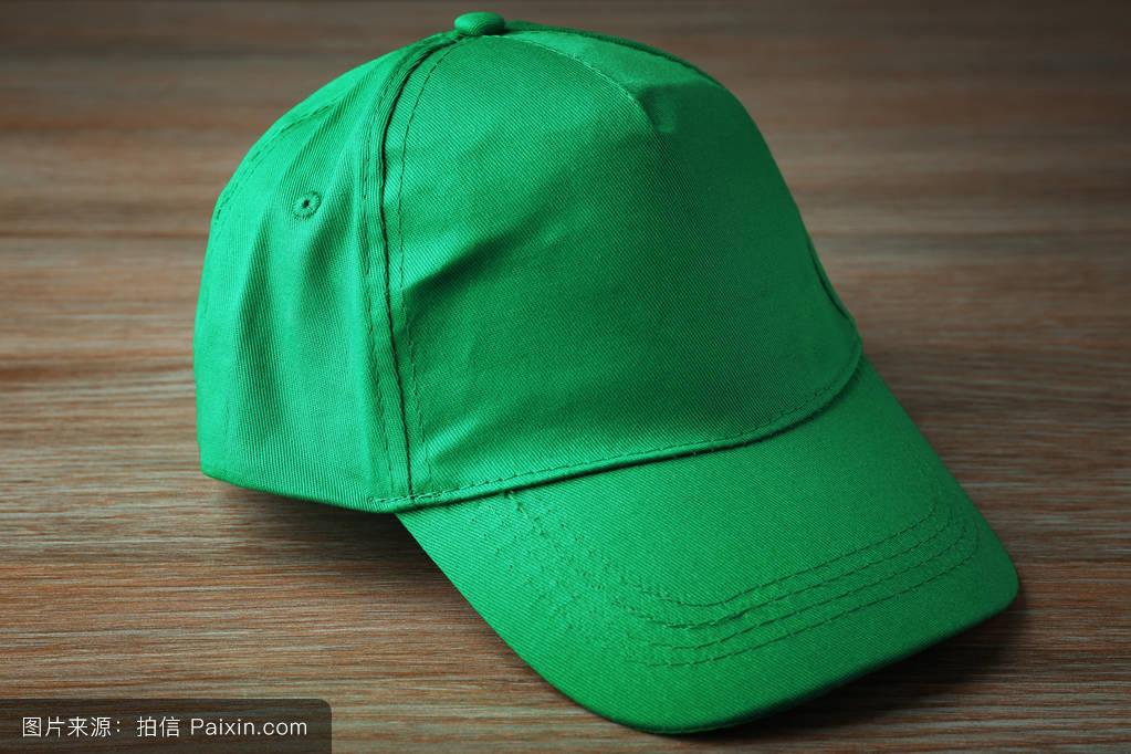 帽子_绿色的棒球帽
