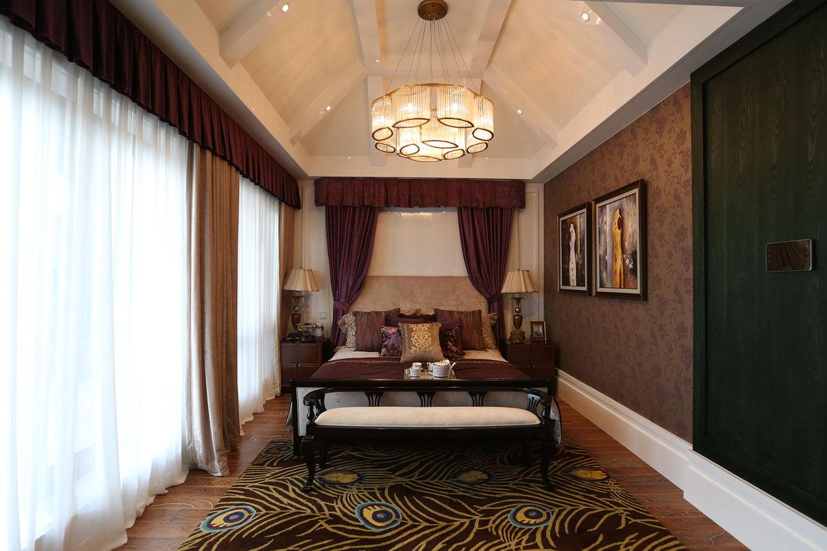 样板房,卧室,风格,吊顶灯,室内装修,家装,现代,格调,装饰品,软装图片