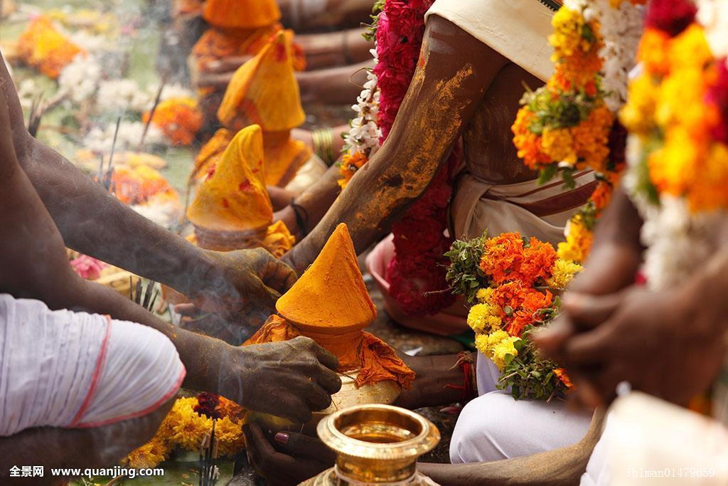 被称为天南贡品的是_供品,大宝森节,节日,泰米尔纳德邦,印度南部,印度,亚洲