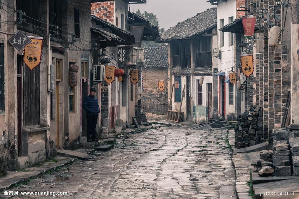 民俗茶文物民居胡同湖北咸宁赤壁羊楼洞古街古村落砖茶