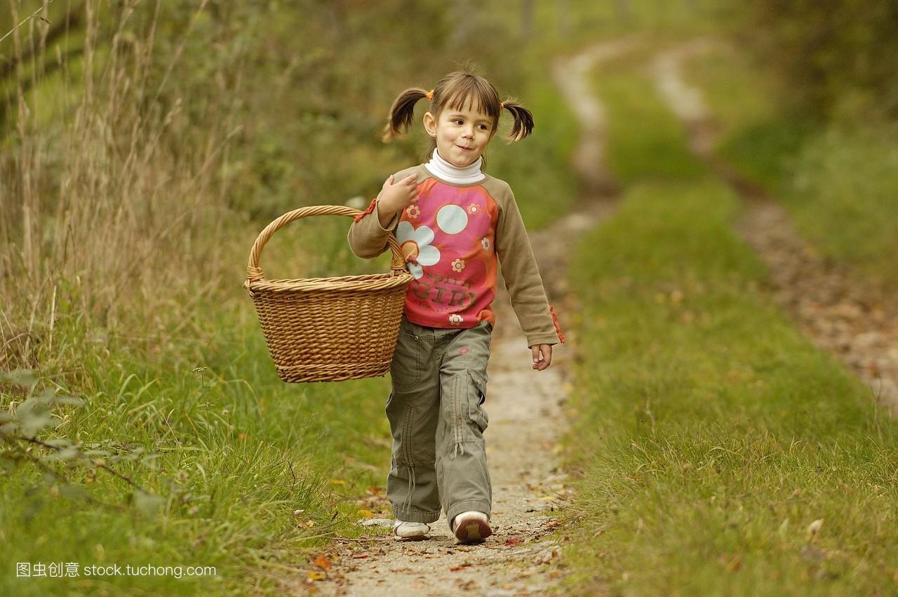 散步,羽绒被,爱好,稚子,孩子,漫步,欧洲的,人,平头,拿着,步行,发型,小图片