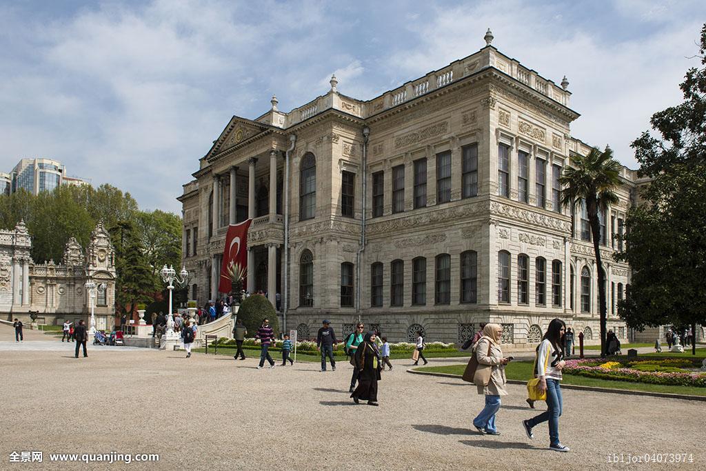 朵尔玛巴切皇宫,宫殿,伊斯坦布尔,欧洲,土耳其,亚洲图片