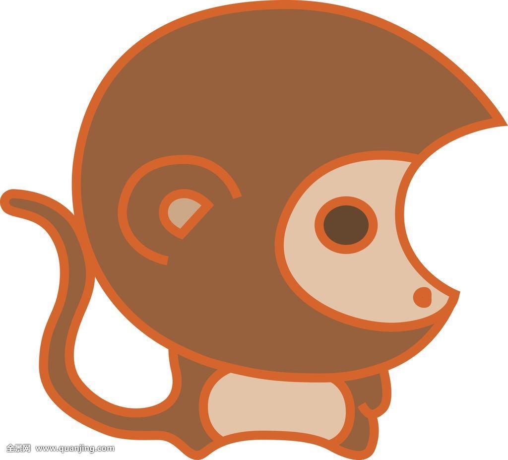 画猴子用什么颜色_猴,猴子,生肖,插画,照片,摄影,彩色,卡通,特写,颜色,鲜艳,多彩,白色