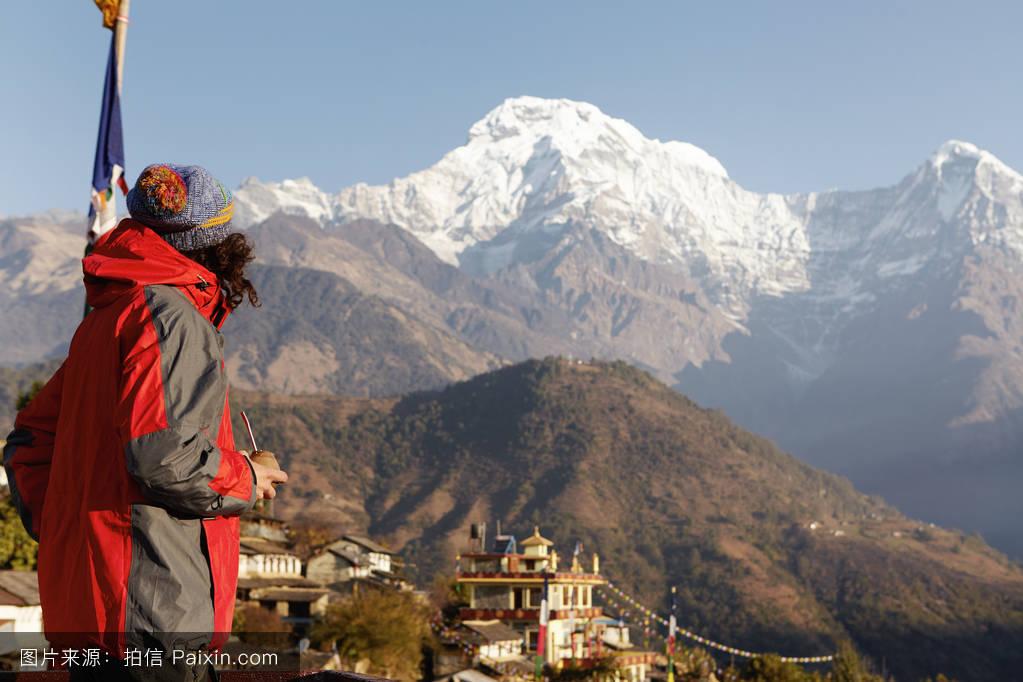 山���!�-��.�9`a�f-:##_天空,假期,景观,喜马拉雅,雪,美丽的,岩石,极端,顶部,自然,高的,登山