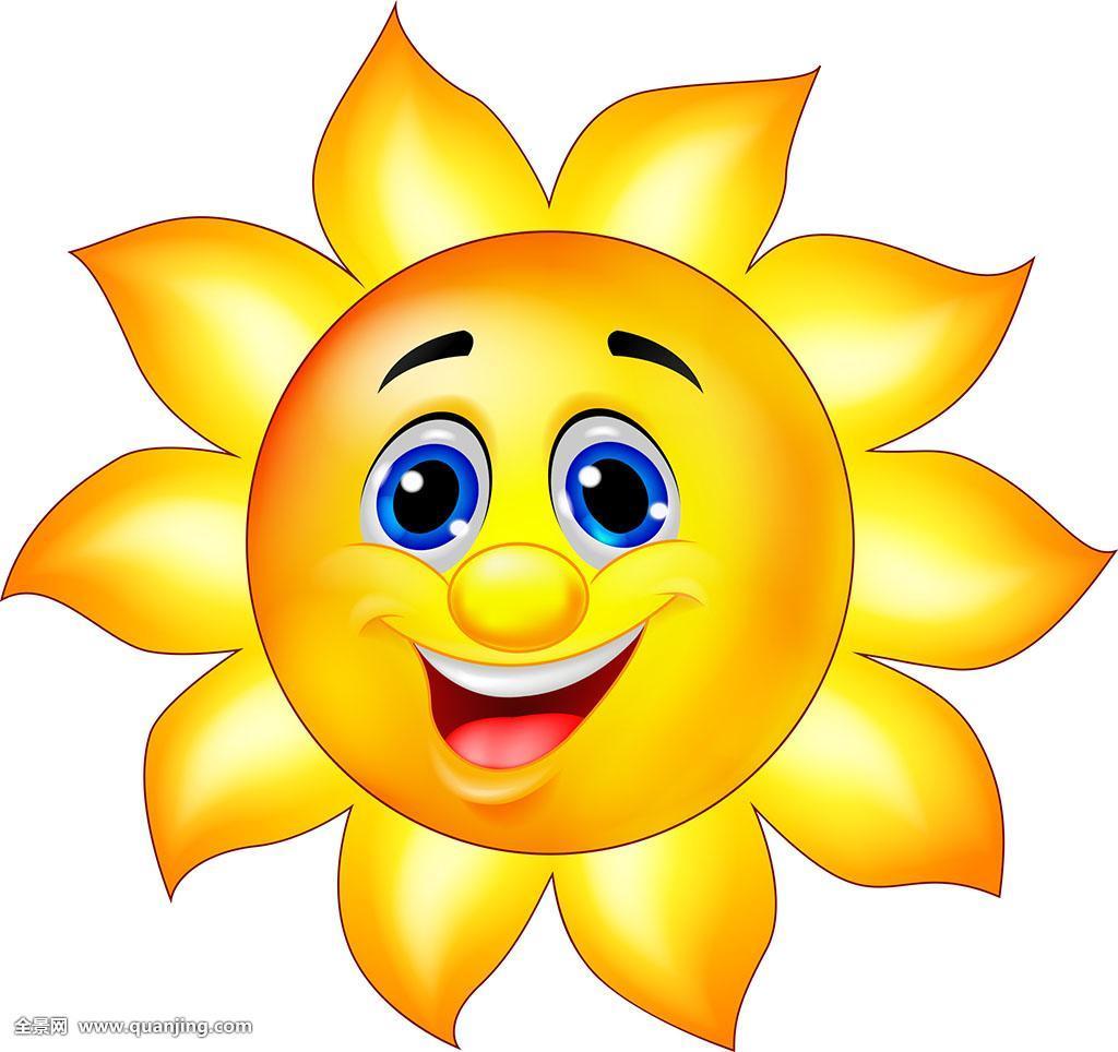太阳,卡通图片