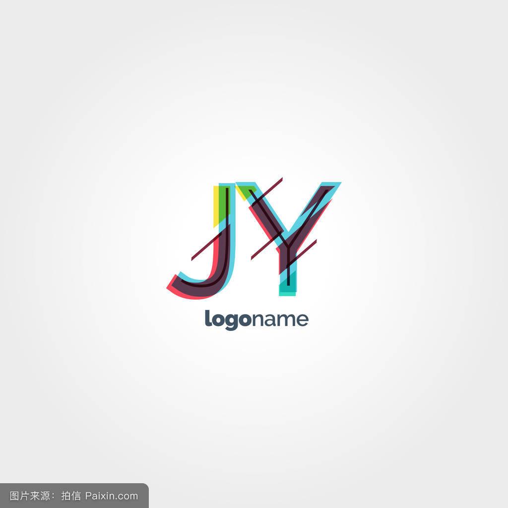 怀�9.�9ojy�_jy多色字母标志