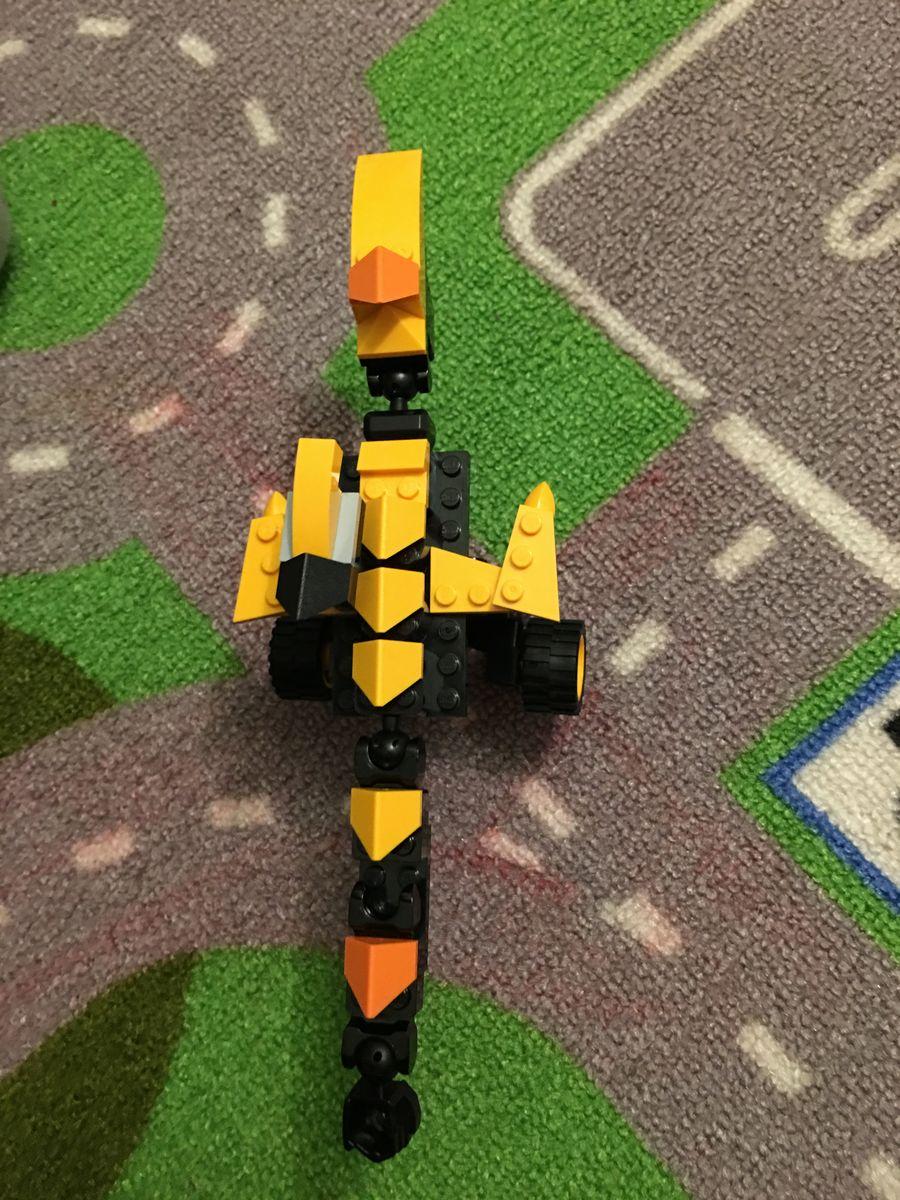 乐高式拼装玩具 恐龙翼龙图片