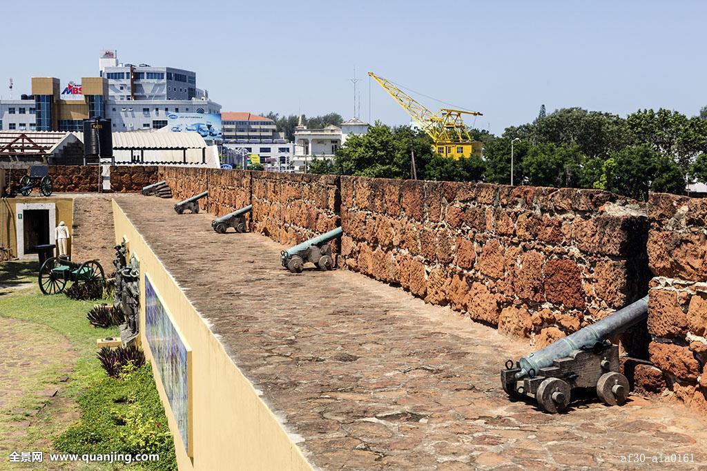 非洲大炮�9�e����e�il_非洲,莫桑比克,马普托,大炮,防卫,老,堡垒