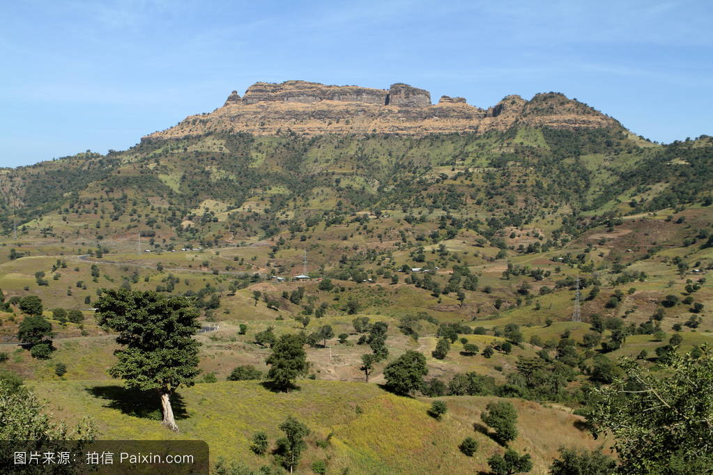 山���!�-��.�9`a�f-:##_世界遗产,非洲,景观,埃塞俄比亚,东非,瑟门山,草地,山地景观,山,领域