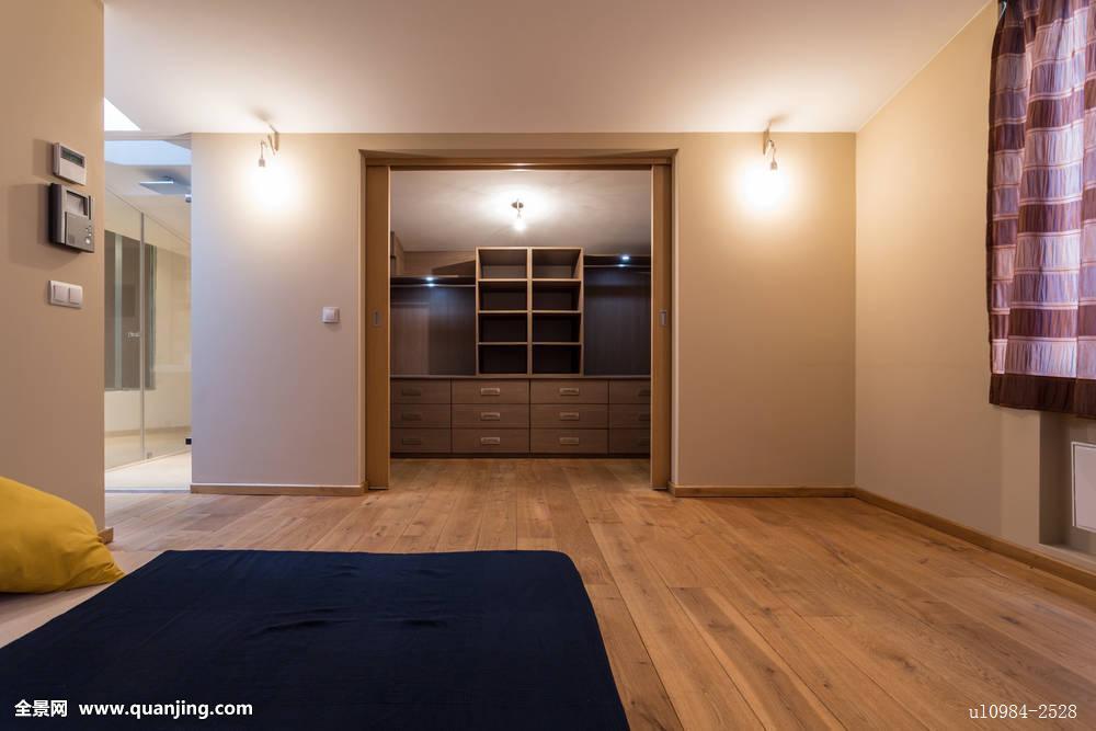 卧室,衣柜,公寓图片