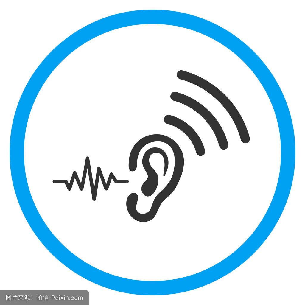 听���!�`iyn��+��n���'���_设计元素,符号,通信,平的,听,间谍,声音,路由器,象形文字,感觉,分离