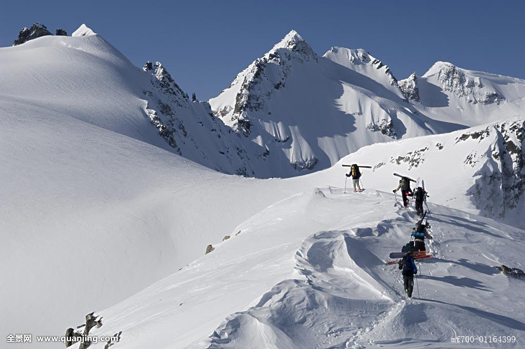 努力,探险,寒冷,尾部,户外,冰,积雪,团队,合作,协作,越野滑雪,北欧图片