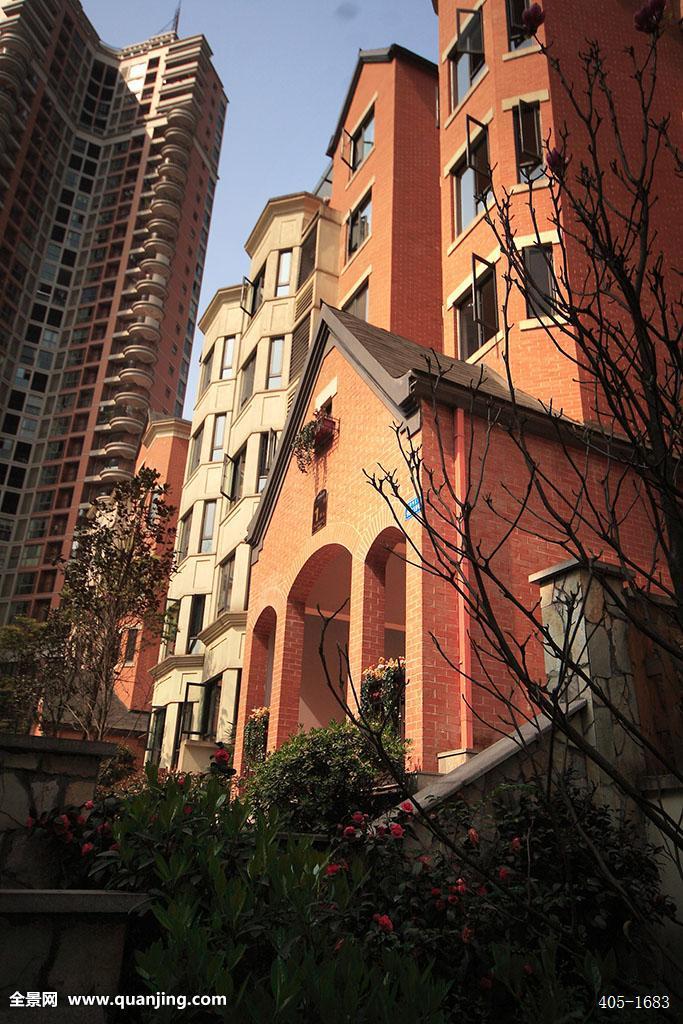 洋楼,别墅,高层,景观,小区,住宅,房地产,家园,居住,欧式,英式,风格图片