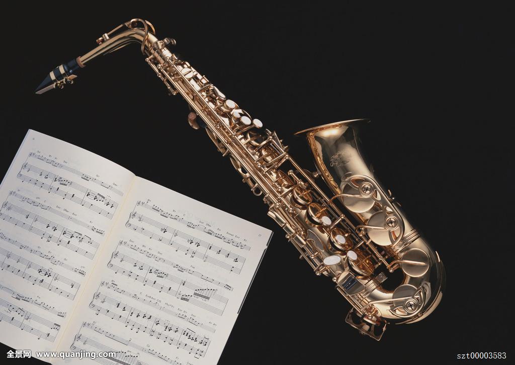 萨克斯管,乐谱图片