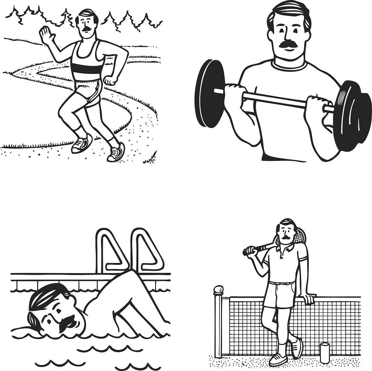 物的运动方式和身体结构特点 表