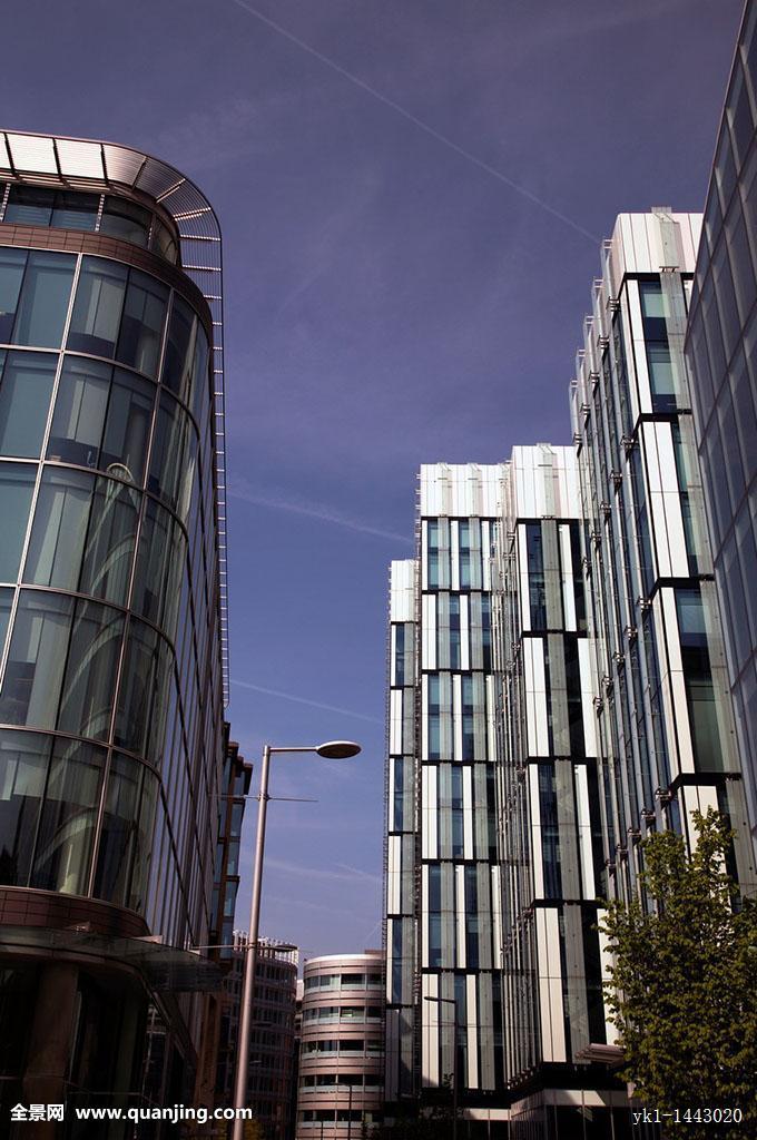 现代建筑,曼彻斯特,英国