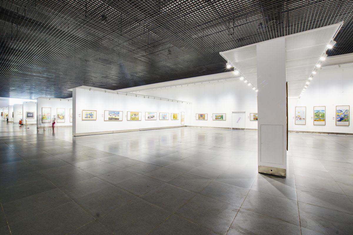 书画展厅 内部空间图片