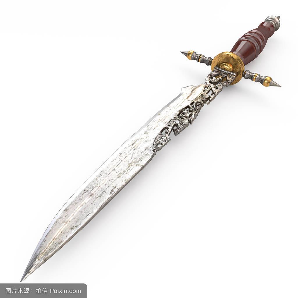 钢,战斗,装饰性的,分离,古老的,中间的,白色,战争,致使,铁,古代的,剑图片