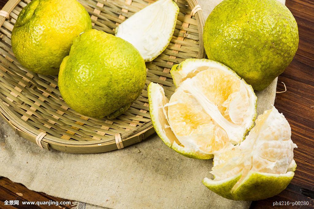 水果柚子橙子图片
