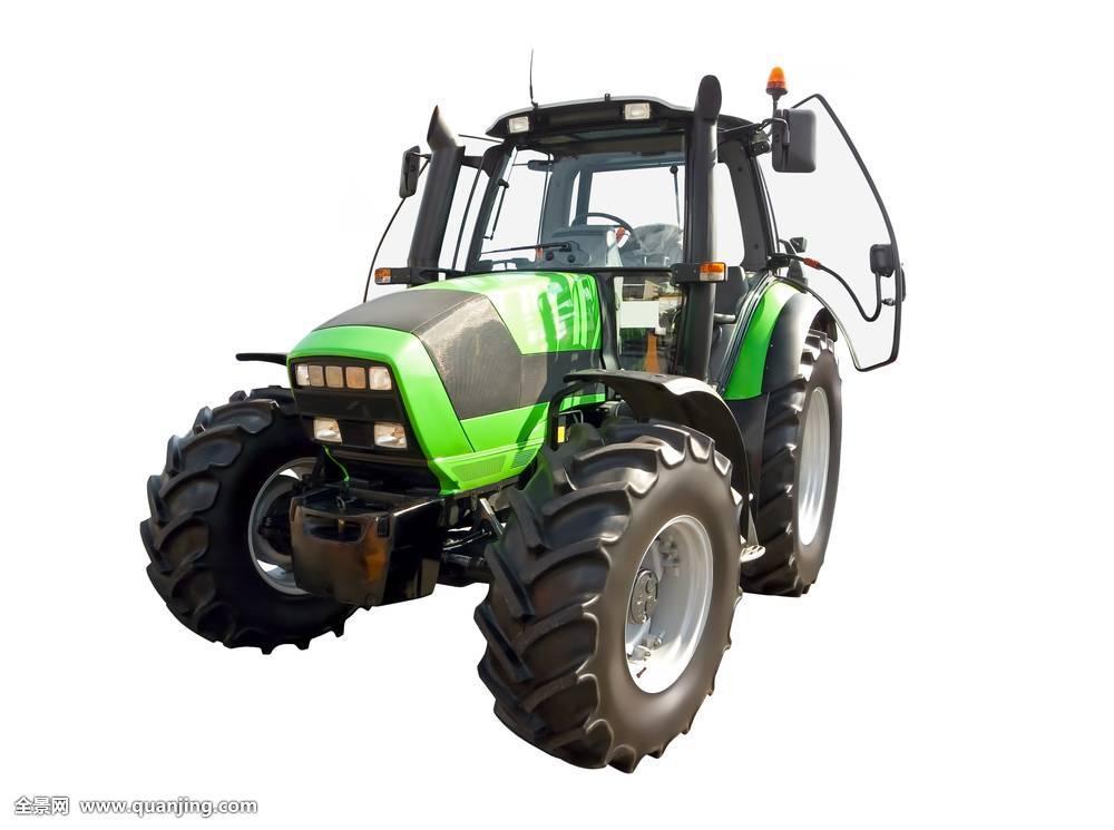 绿色,农用拖拉机图片