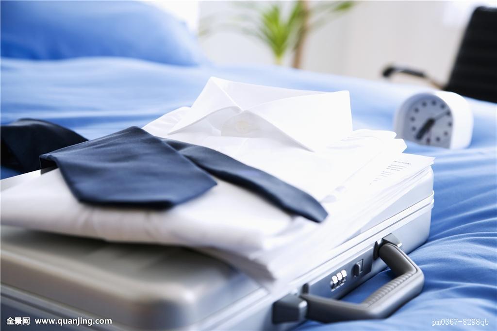 交易_床,商务,交易,工作,职业,衬衫,看,手提箱,包