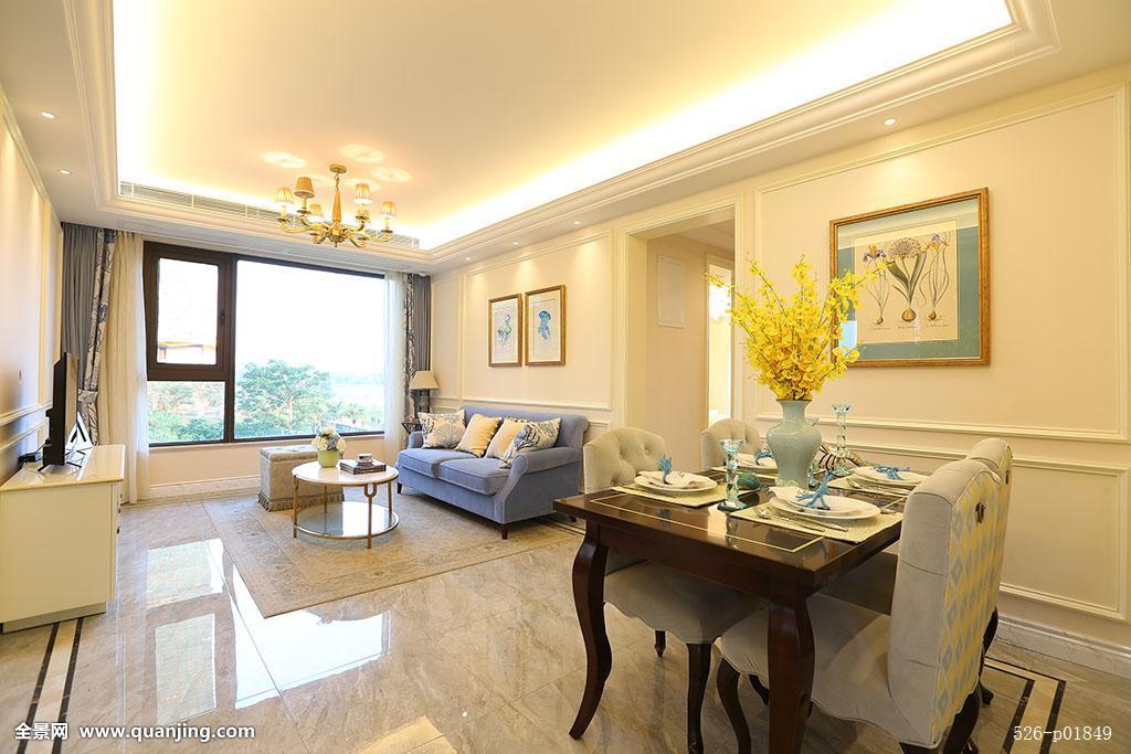 豪华别墅房地产项目内部装修装饰和样板间素材图片图片