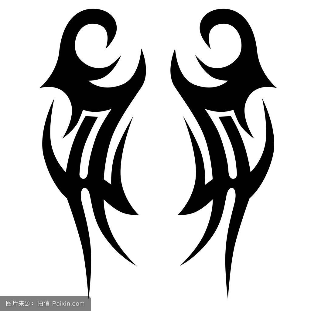 纹身部落矢量设计图片