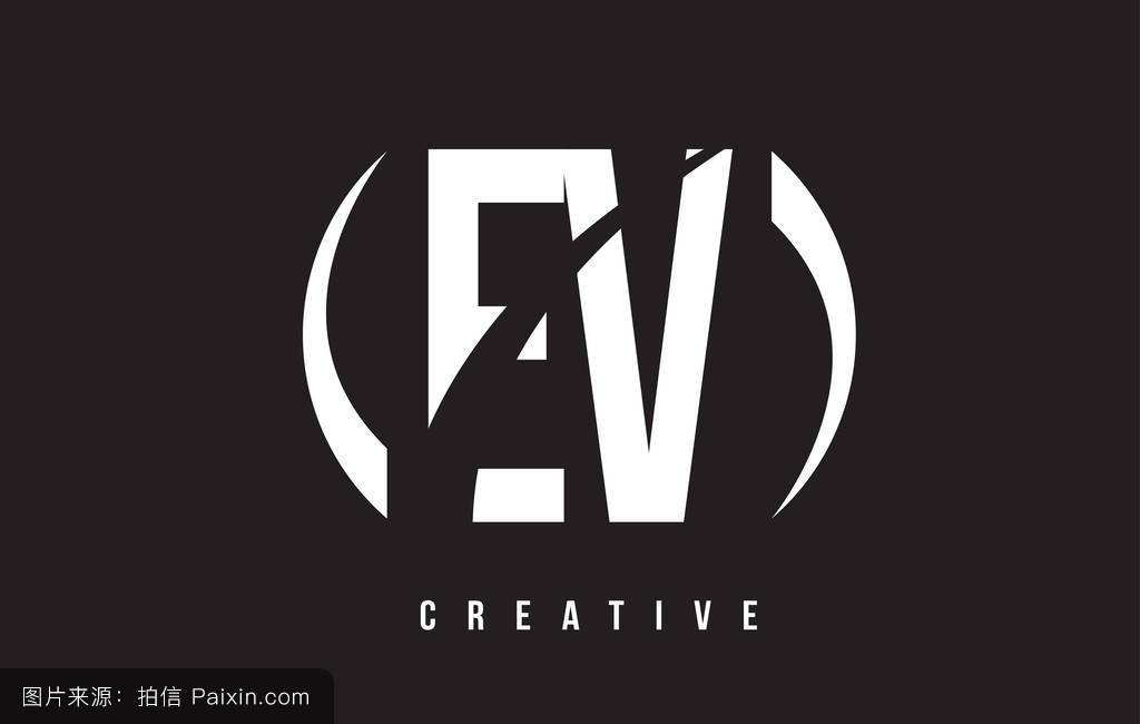 ��9ۍv_ev e v的白色字母标�