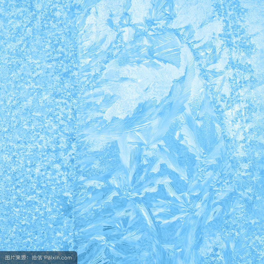雪��/~���x+�x�&�7:d��_蓝色,模式,雪,结晶,美丽的,宏,滑的,鳞片,白霜,雾凇,在户外,冰柱