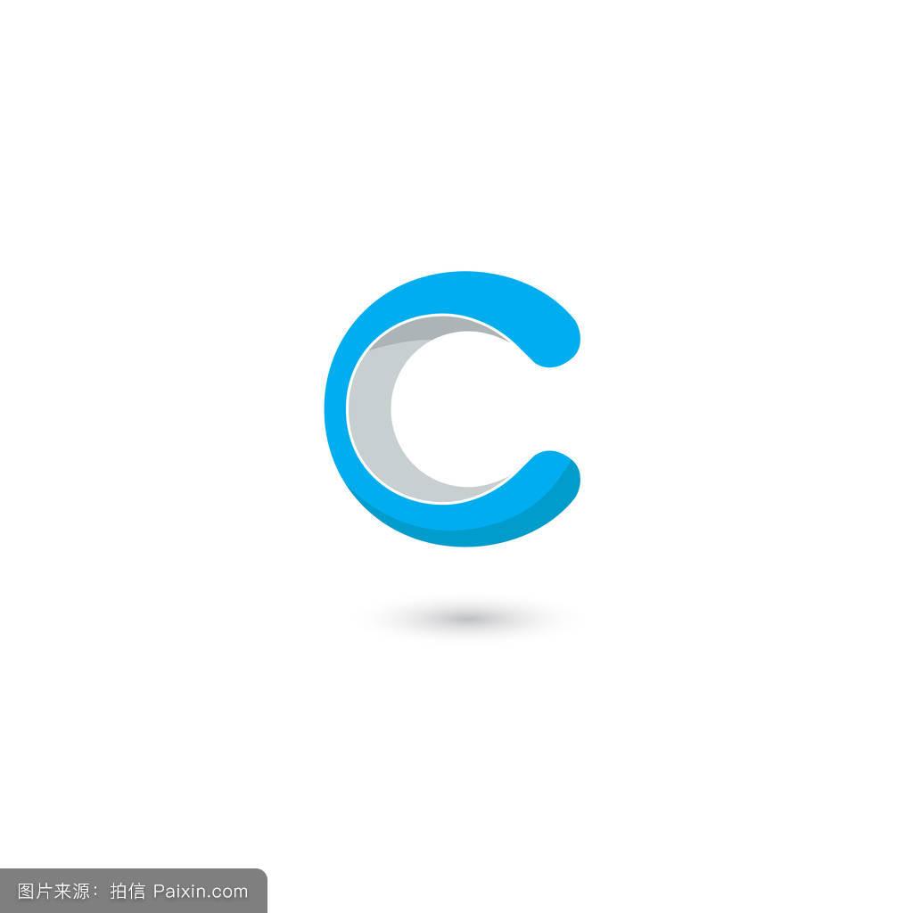 字母c标志图标设计模板元素.抽象元素用于企业标识,徽标,标签或图标图片