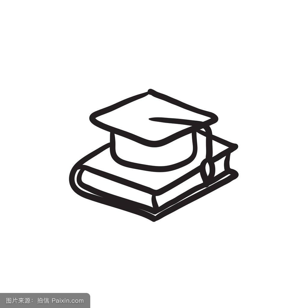 指导,白色,大学,学习,黑色,教科书,网状物,仪式,毕业,主人,帽子,设计图片