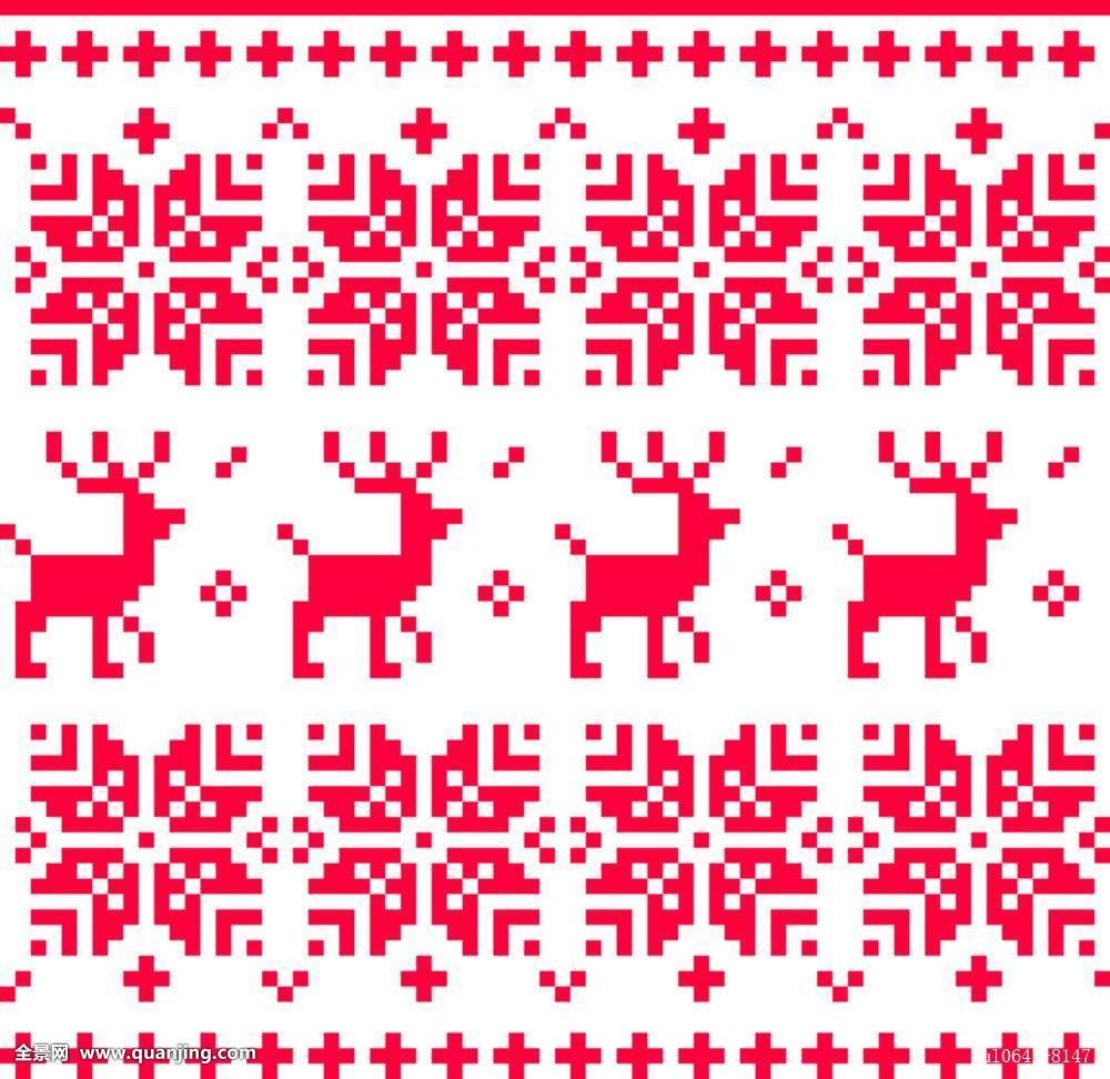 重复,北欧,无缝,图案,隔绝,白色,民俗,传统,红色,活力,彩色,漂亮,瓷砖图片