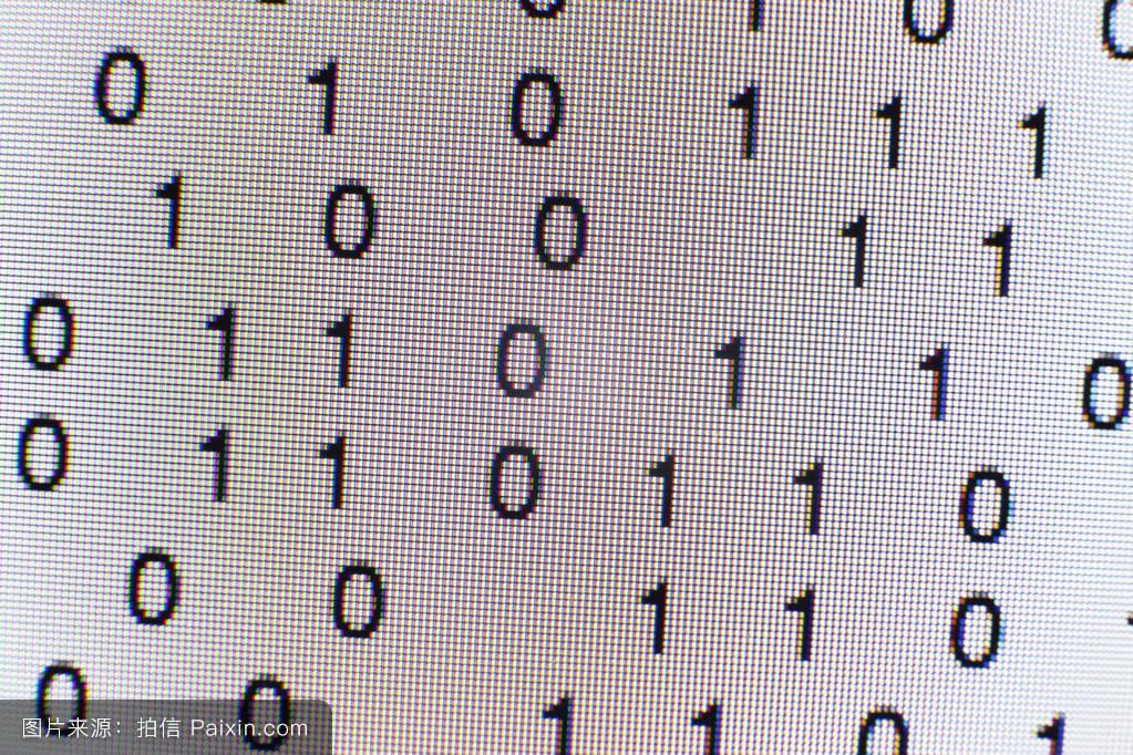 编码�z*_计算机屏幕上的二进制代码