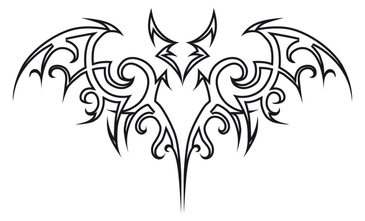 纹身的蝙蝠.图片
