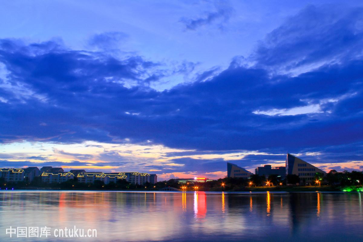 东莞市松山湖风景图片