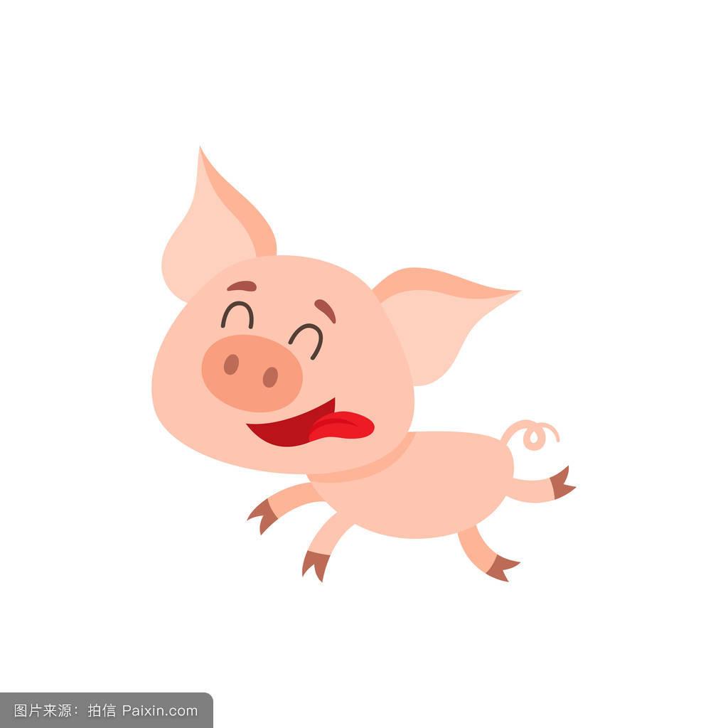 揪耳朵小猪表情分享展示图片
