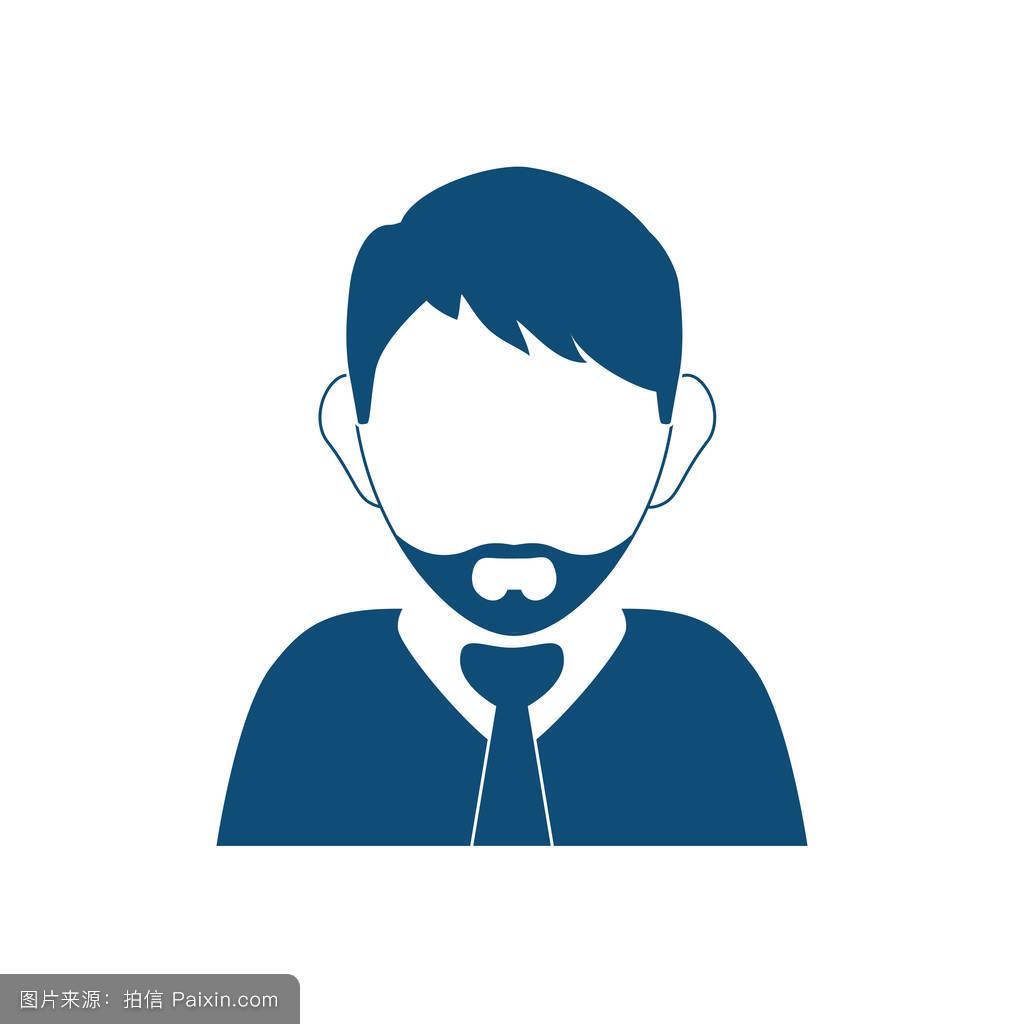 头发,头,矢量,经理,用户,分离,社会的,男孩,白种人,商人,发型,总经理图片