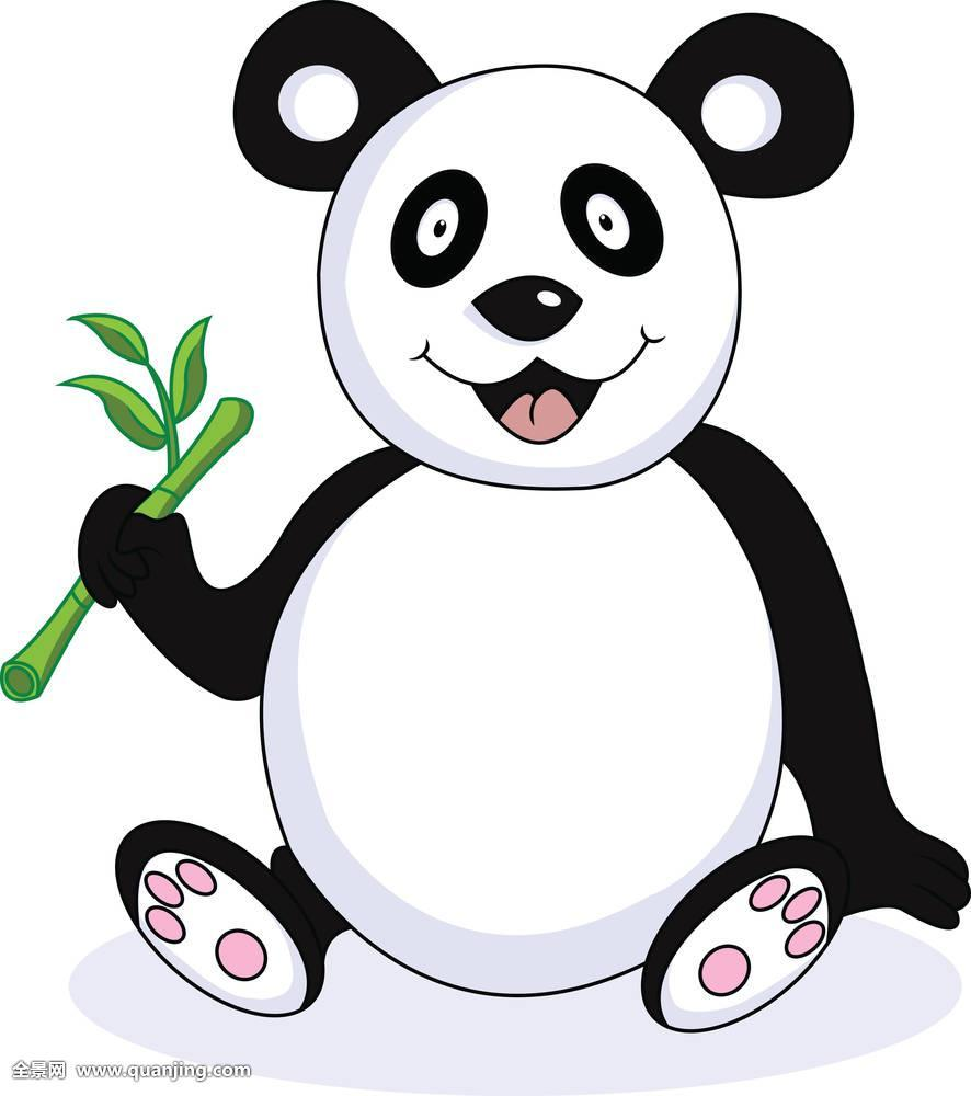 熊猫双手挠头表情包分享展示图片图片