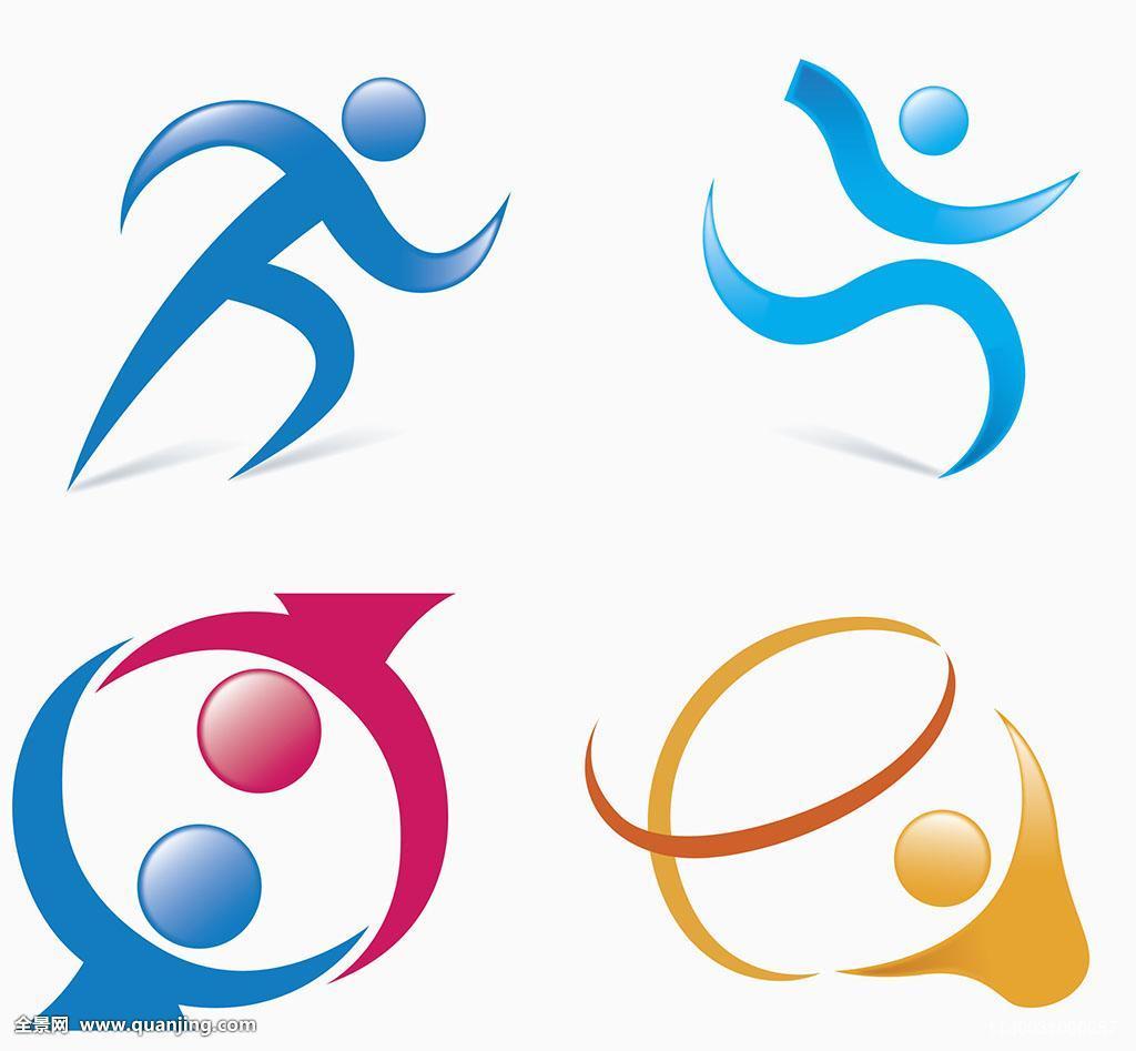 玩,运动,背景,人,职业运动,象征,奥运会,奥运,练习,竞技运动,插画图片