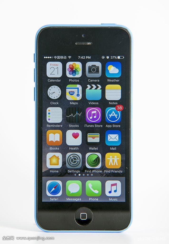 无人手机棚拍室内特写iphone5c苹果二手促销通信直播带秀应用安卓图片