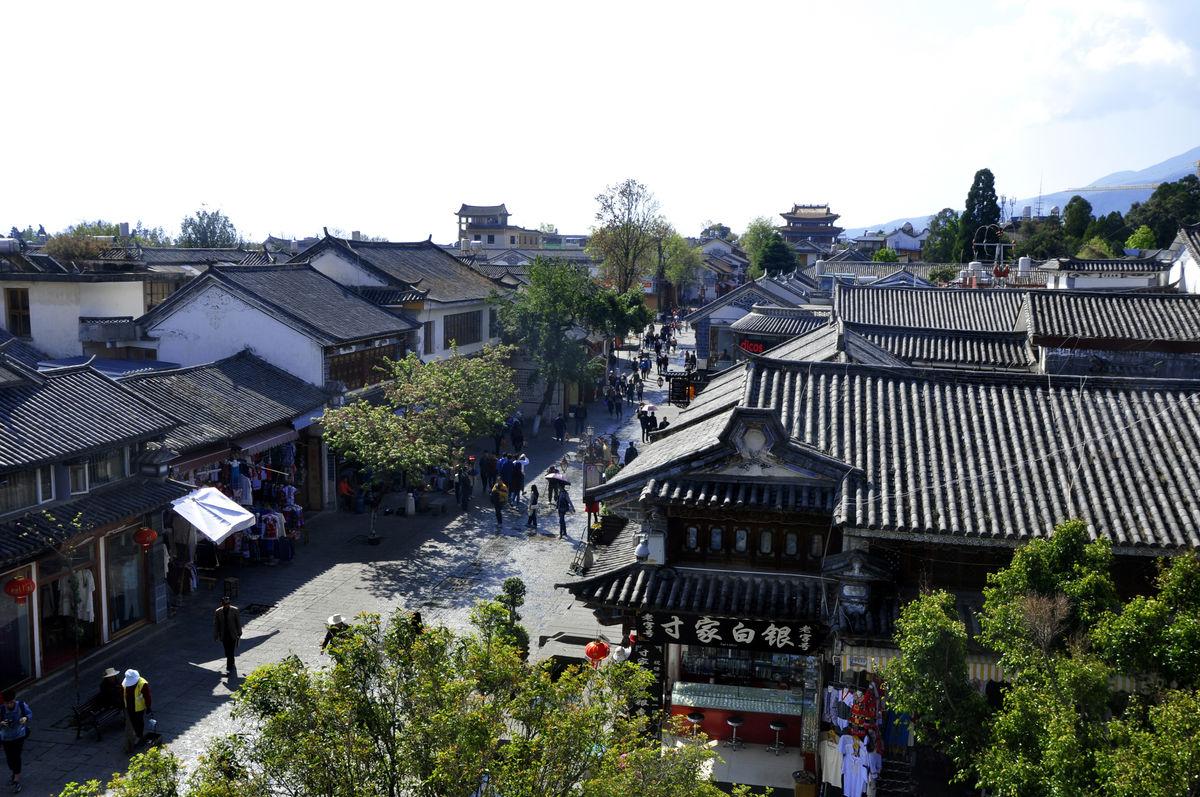 古城中式建筑群图片