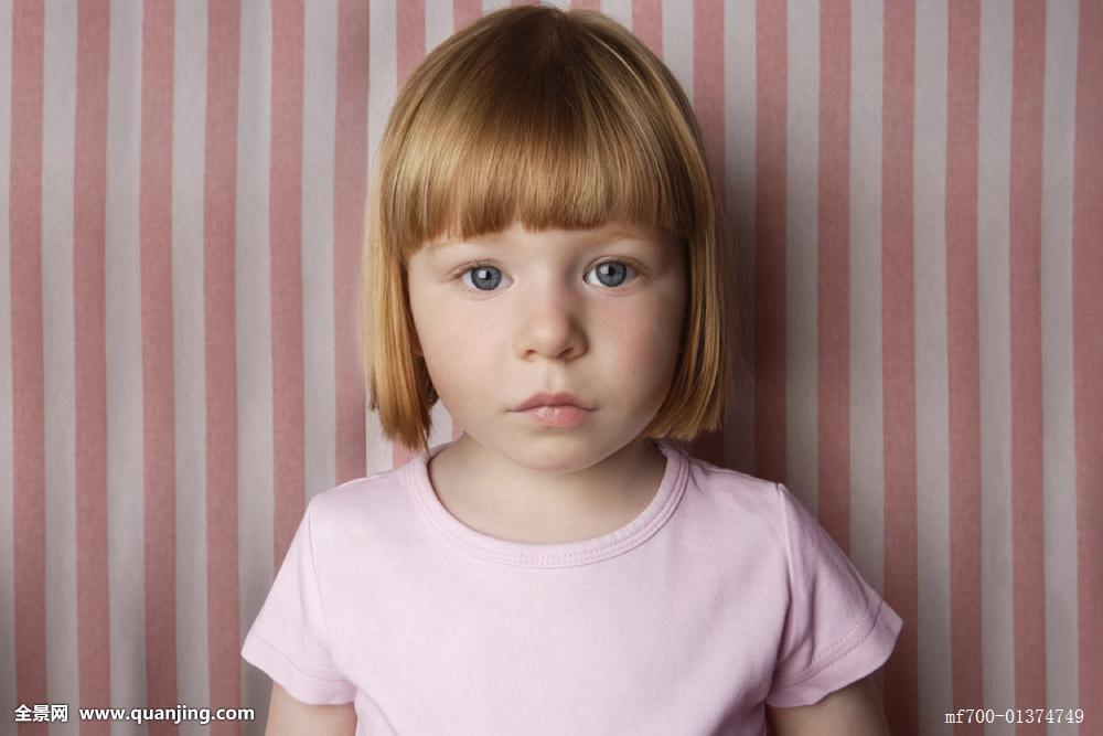 肖像,小女孩图片