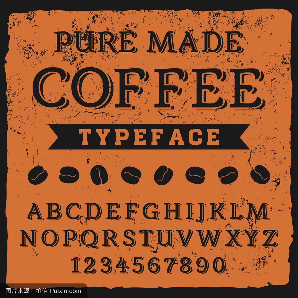 喝,标题,字母,文本,刷,abc,签名,设计,书法,刻字,墨水,矢量,颜色,黑板图片
