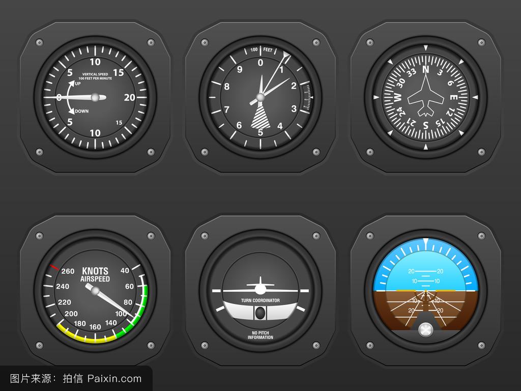 电子仪器仪表检�ym�_航行,指示器,航班,速度,控制,航空,驾驶舱,仪表板,高度计,陀螺,仪器